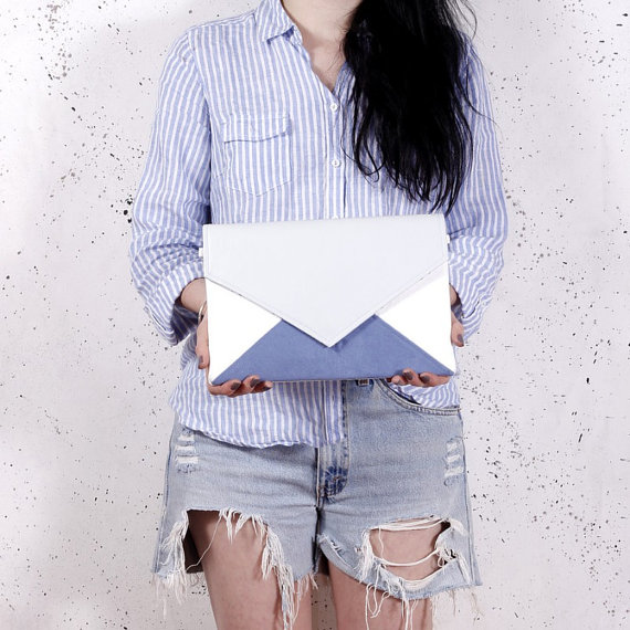 Cocoonobags: Letter Clutch