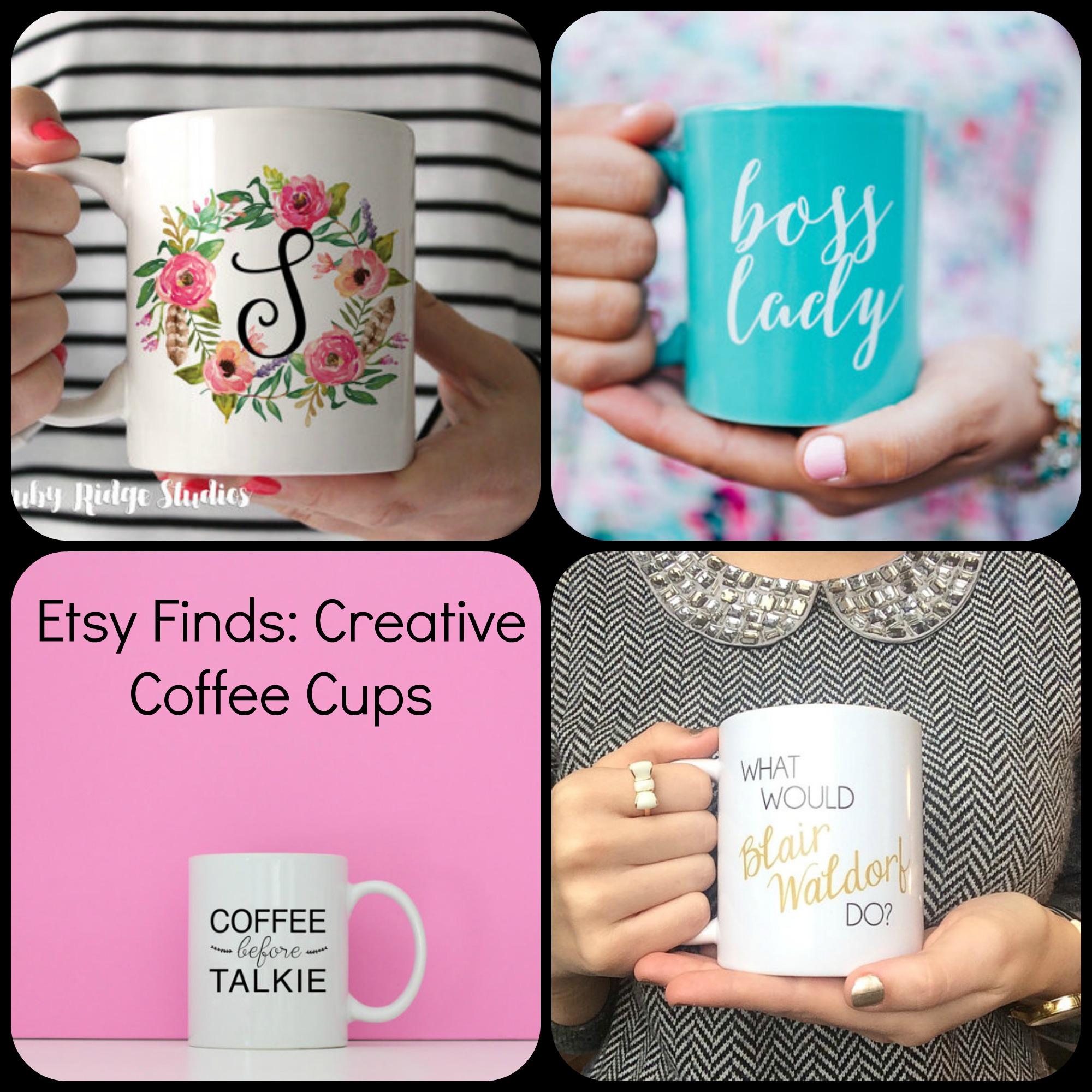 creative coffee cups