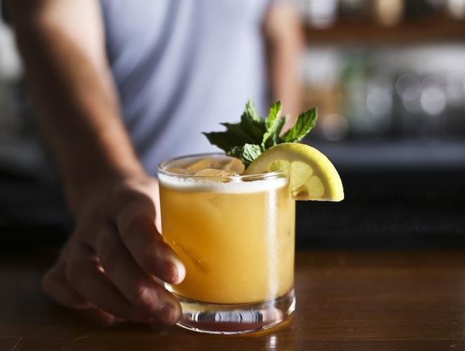 Lemon Mint Caocktail