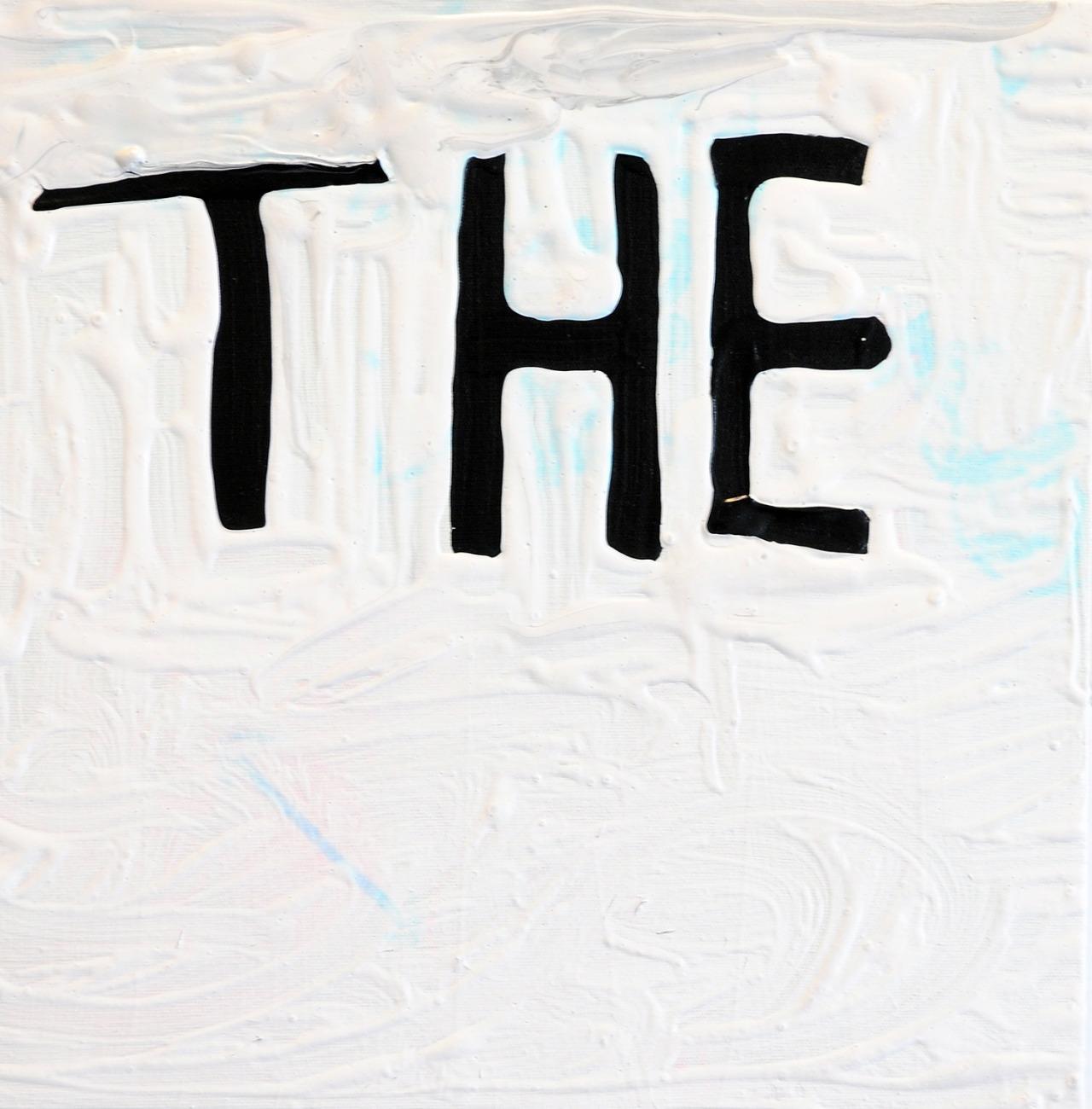 "Untitled, acrylic on canvas, 14"" x 14"", 2015"