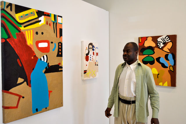 Mullen and his works at NIAD