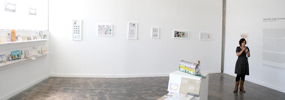 V+V's exhibition space