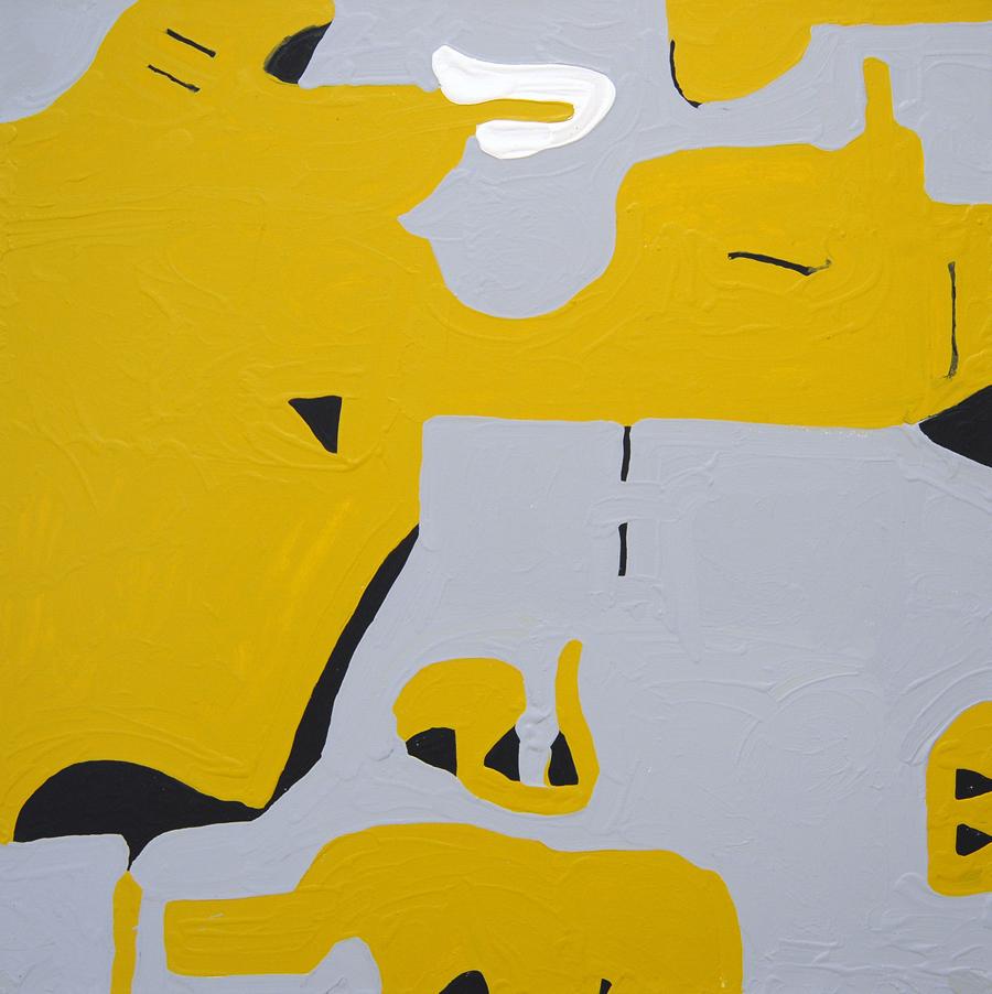 "Marlon Mullen, Untitled (P2403), acrylic on canvas, 36"" x 36"""