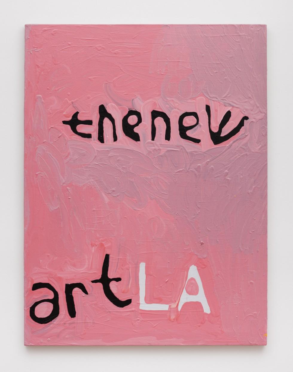 "Marlon Mullen,  Untitled , acrylic on canvas, 24"" x 30"""