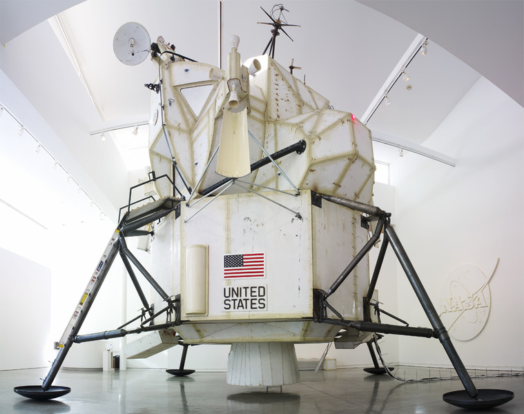 Tom Sachs  Space Program,  image via  tomsachs.org