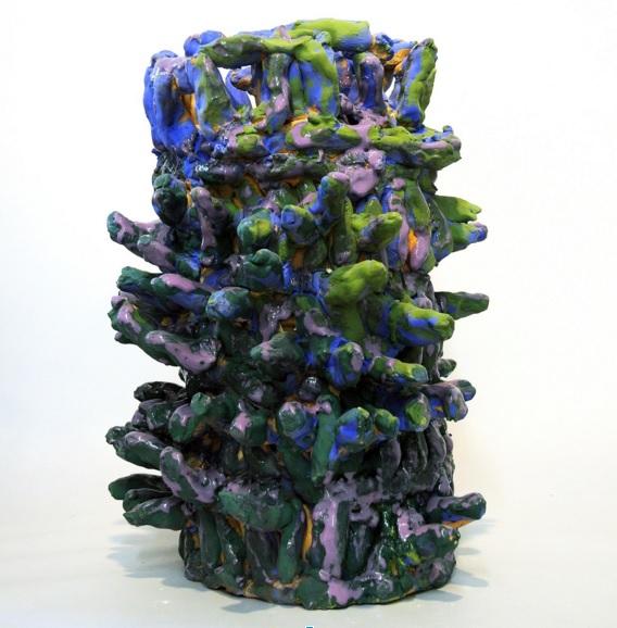 Untitled, glazed ceramic