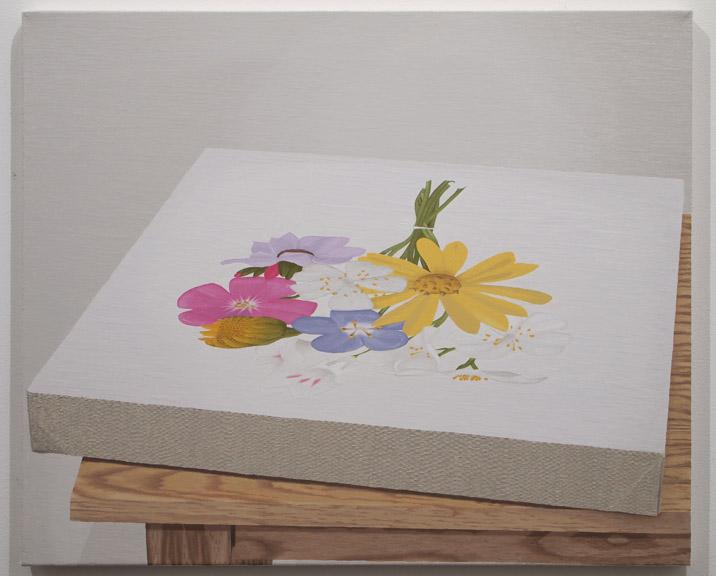"John Seal, Untitled, 20"" X 24"", Oil on canvas 2011"