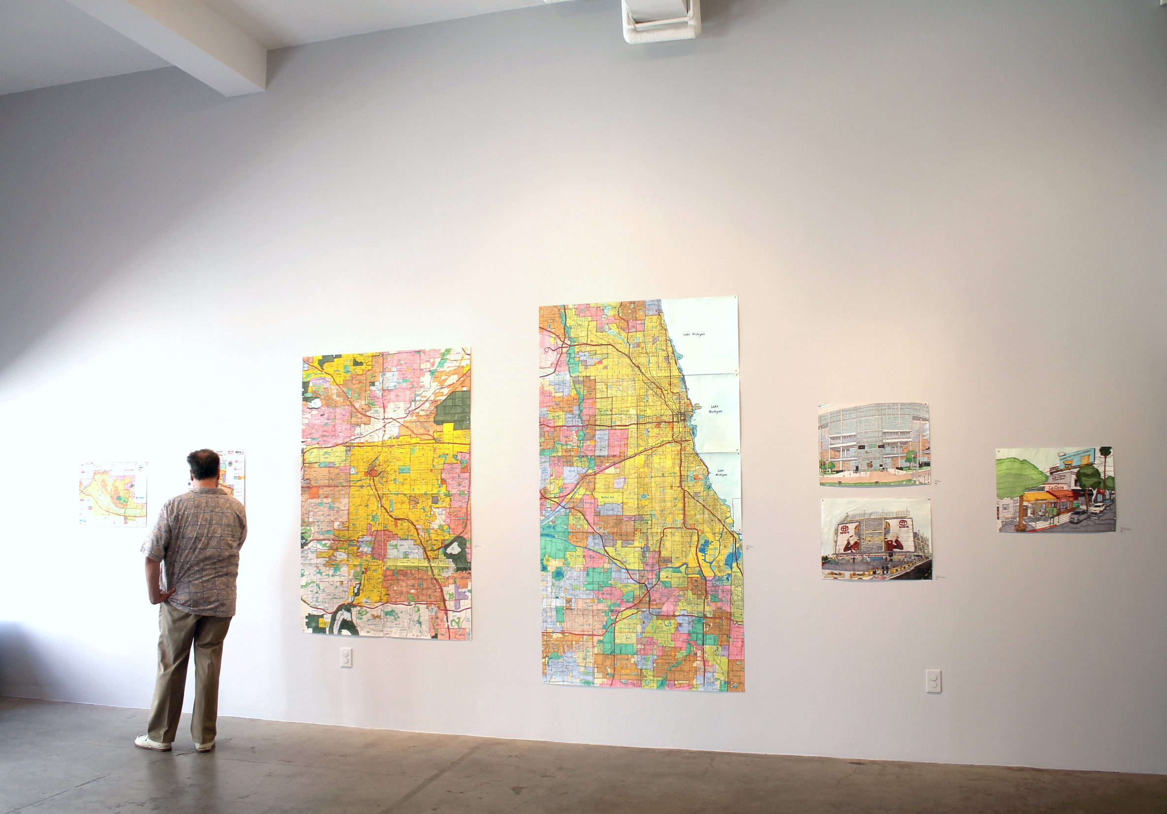 Joe Zaldivar installation view
