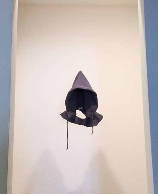 David Hammons,  In the Hood , 1993, currently on view in  Non-Fiction  at The Underground Museum in LA