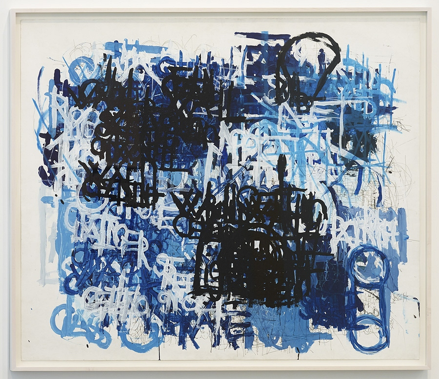 Dan Miller at Diane Rosenstein,  Untitled , 2013, ink and acrylic on paper