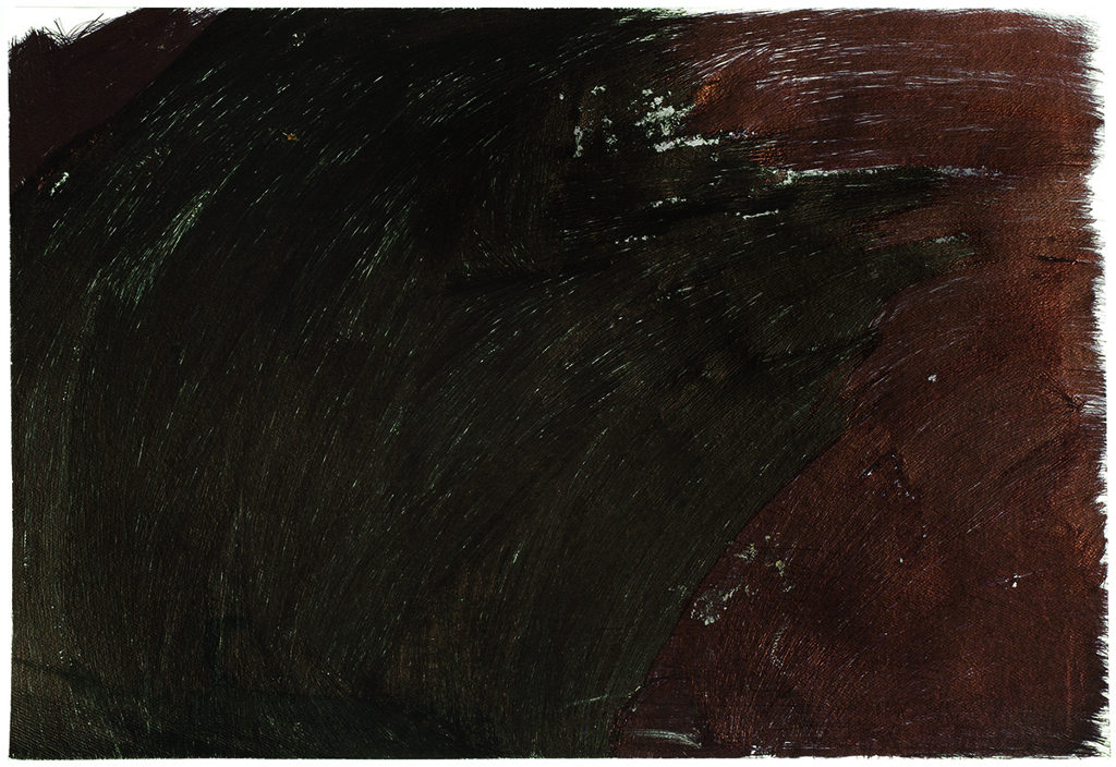 "Beverly Baker,  Untitled , 2015, ballpoint pen on paper, 15"" x 22"""