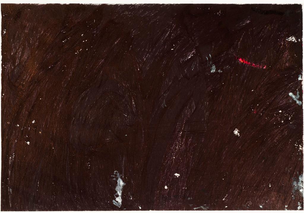 "Beverly Baker,  Untitled , 2015, ballpoint pen on paper, 17.5"" x 23.5"""