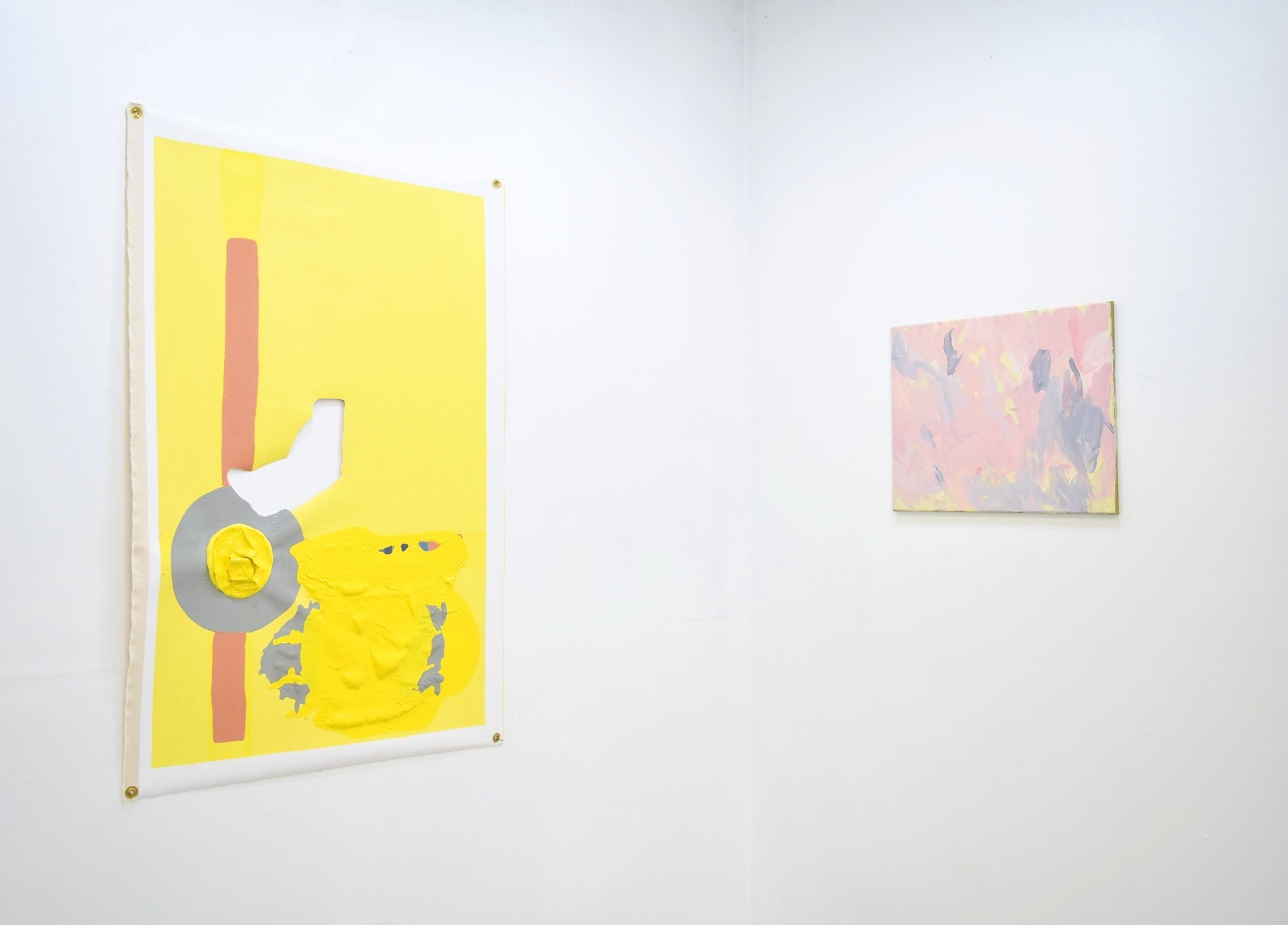 Installation View: Roni Packer and Ted Gram-Boarini
