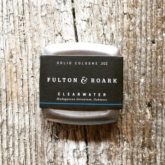 Madagascan Geranium and Oak Moss complemented with notes of fresh water combine to create a fragrance for the modern dad.  7/15  Clearwater Solid Cologne  - $52