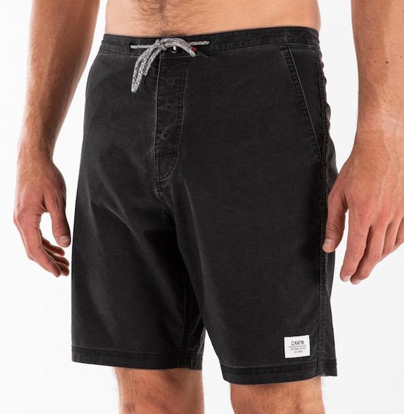 The swim trunk that serves double duty as shorts in an easy-to-wear color.  10/15  Beach Short Trunk in Black  - $62