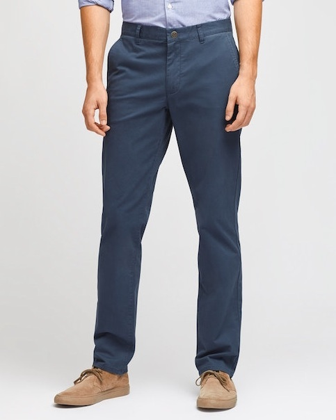 The best-fitting pants your old man's ever sported.  3/15  Stretch Washed Chinos in After Midnights  - $88
