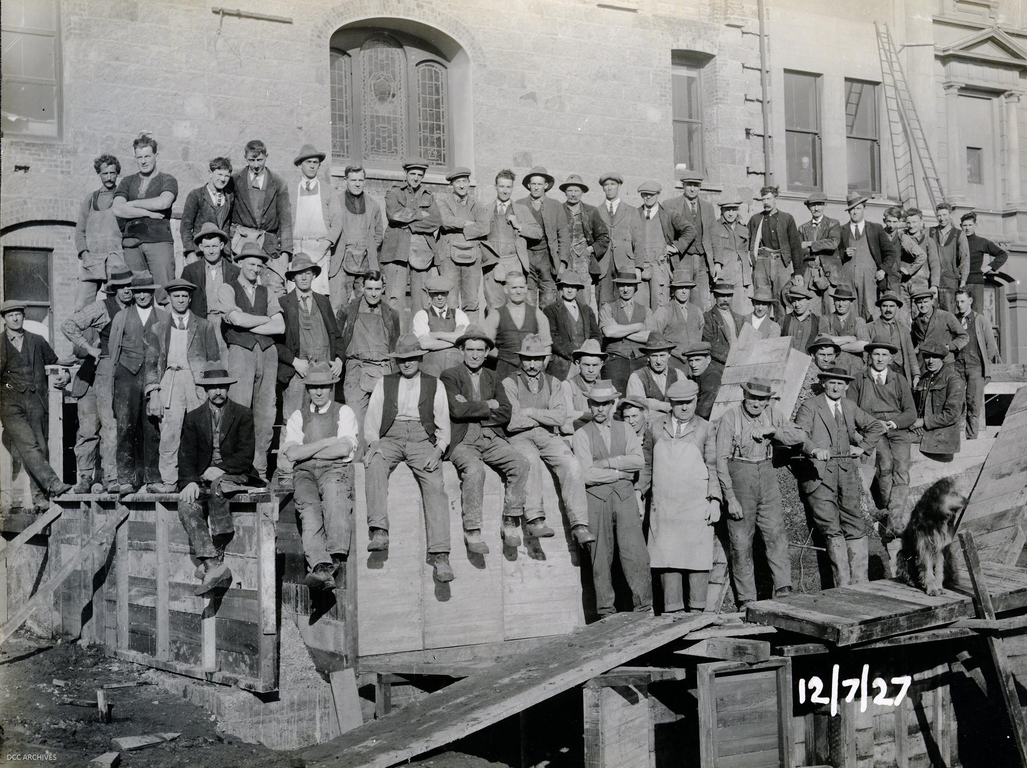 group-workmen-historic-town-hall-construction