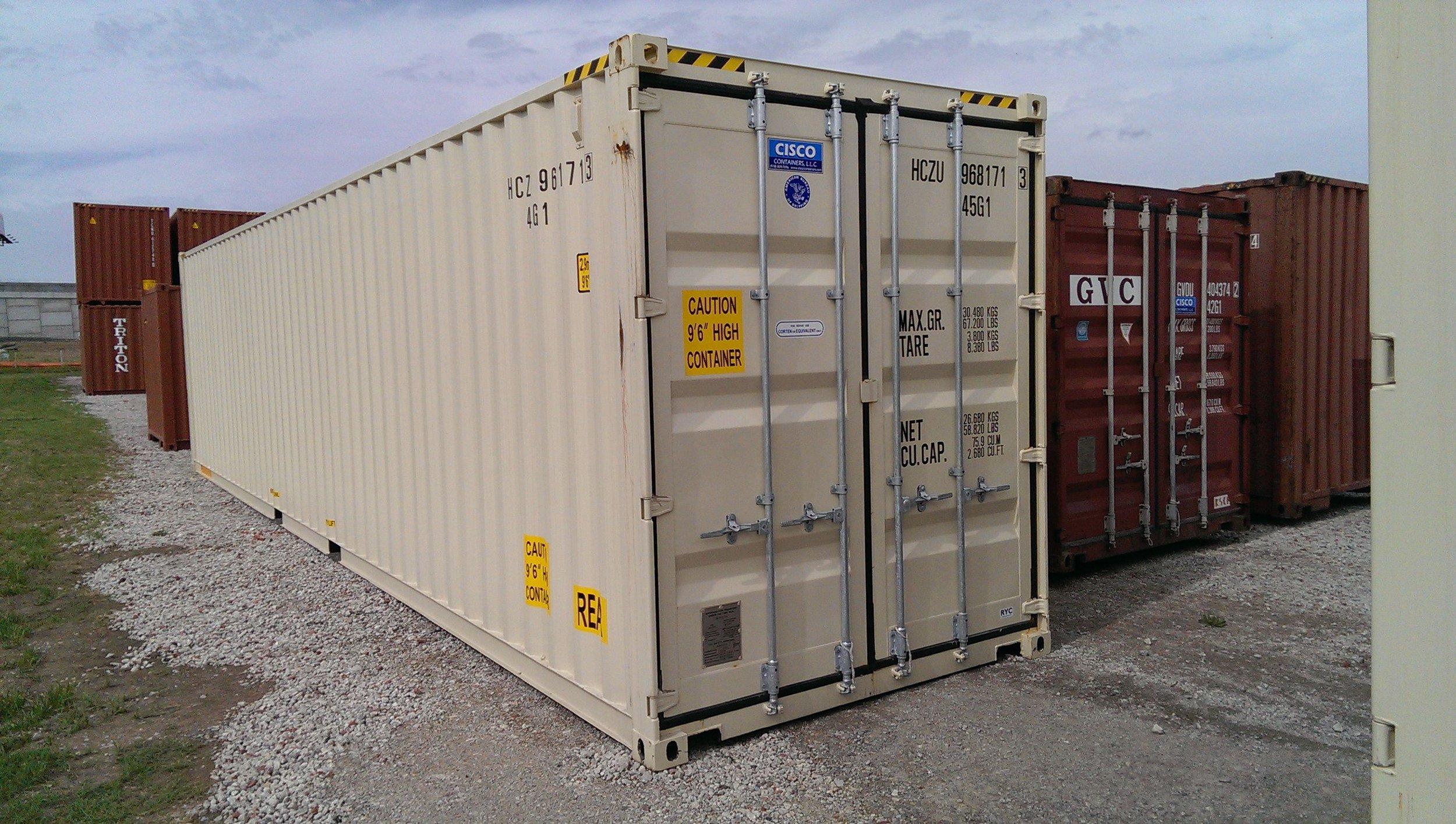 Photo by Michael Cisco, Cisco Containers, LLC., Tulsa, OK