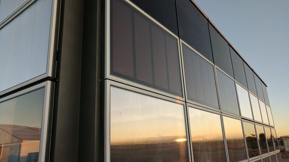 Swiss team's operable solar walls were a highlight