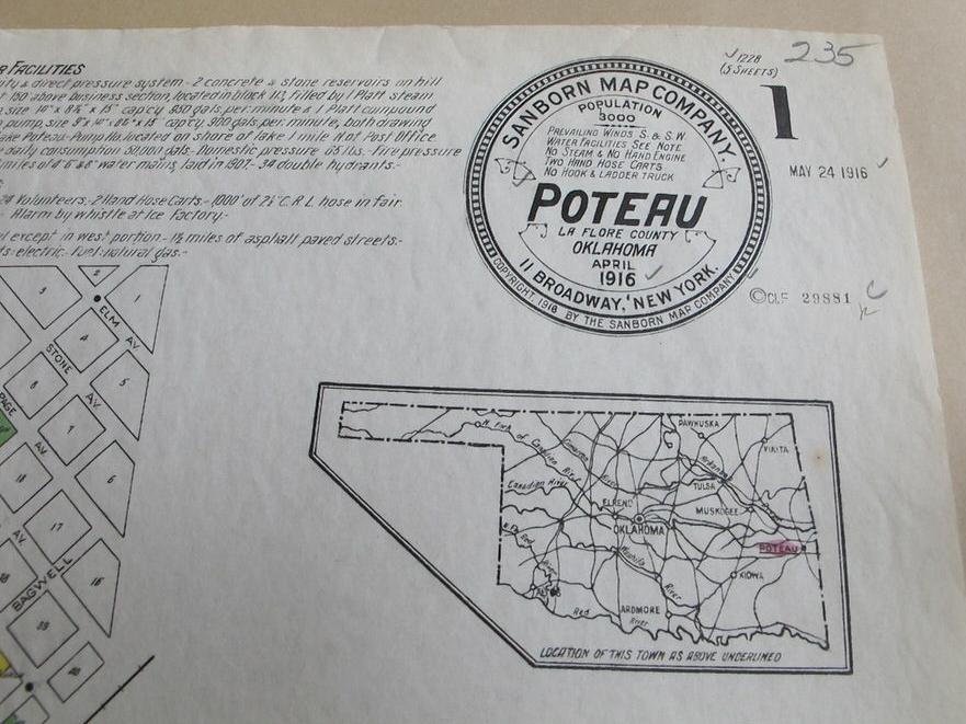 Poteau Legend (1916)