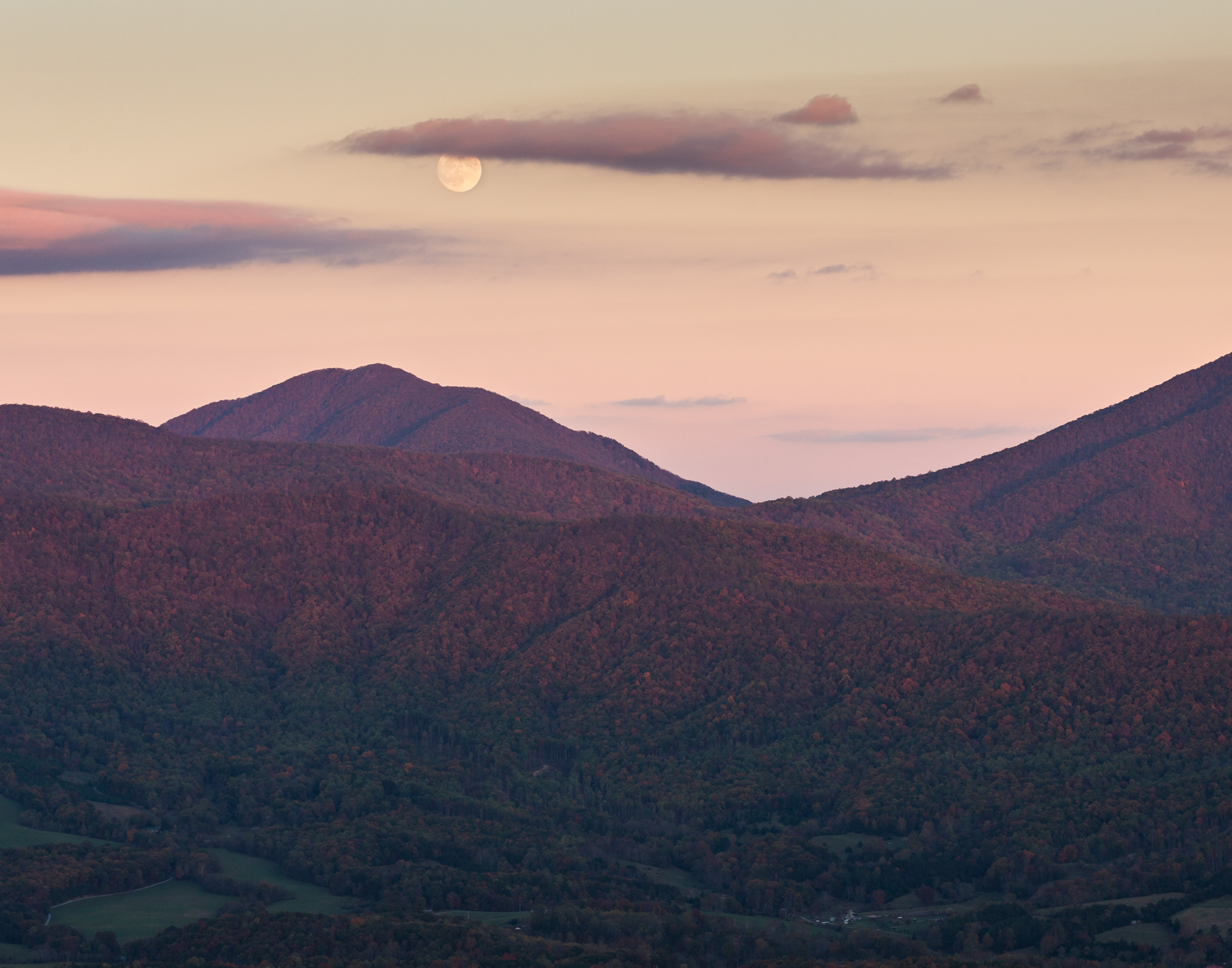 48.  Peaks of Otter, Blue Ridge Parkway, Virginia