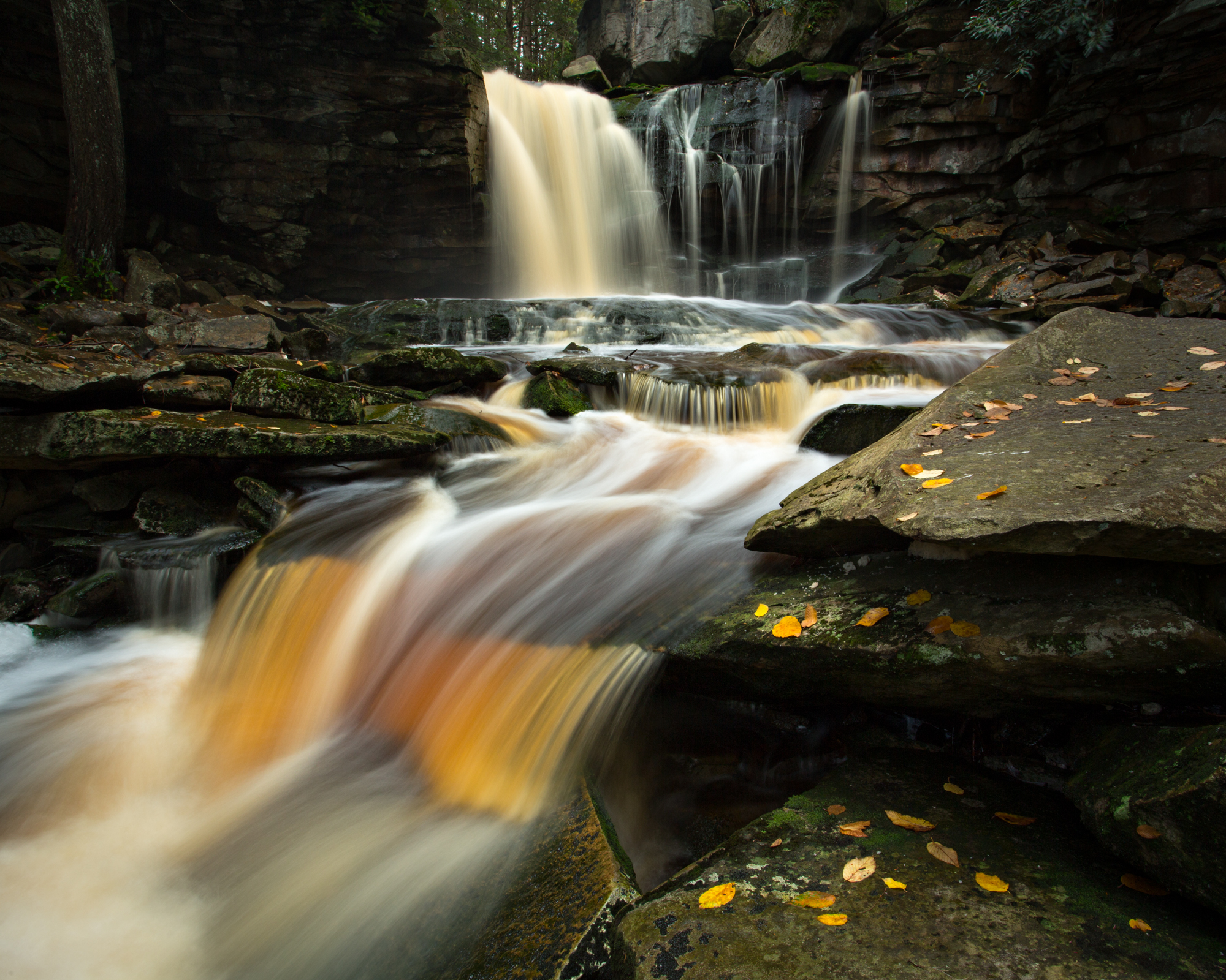46. Elakala Falls, Blackwater Falls State Park, West Virginia