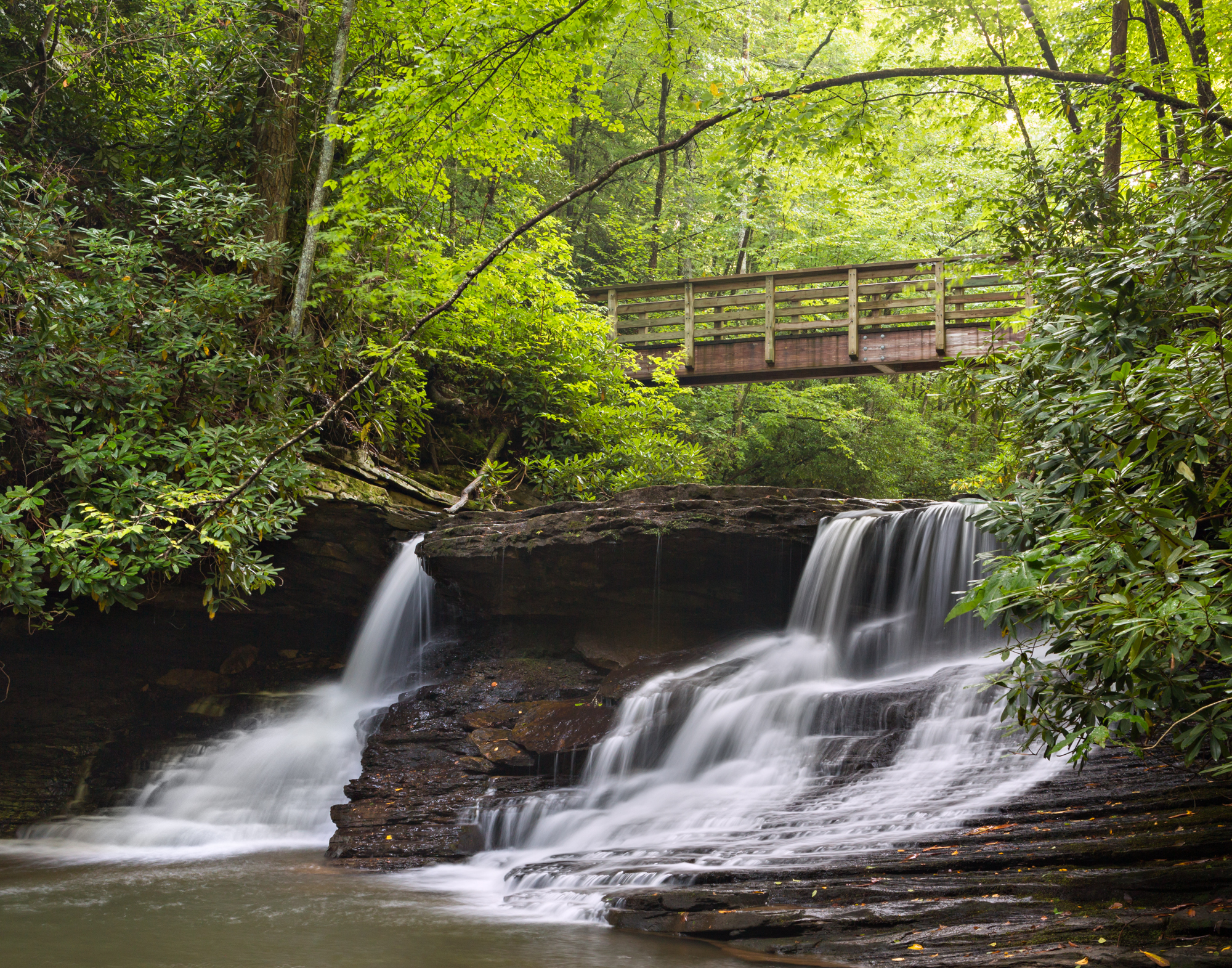 22. Falls of Little Stony Creek, Jefferson National Forest, Virginia