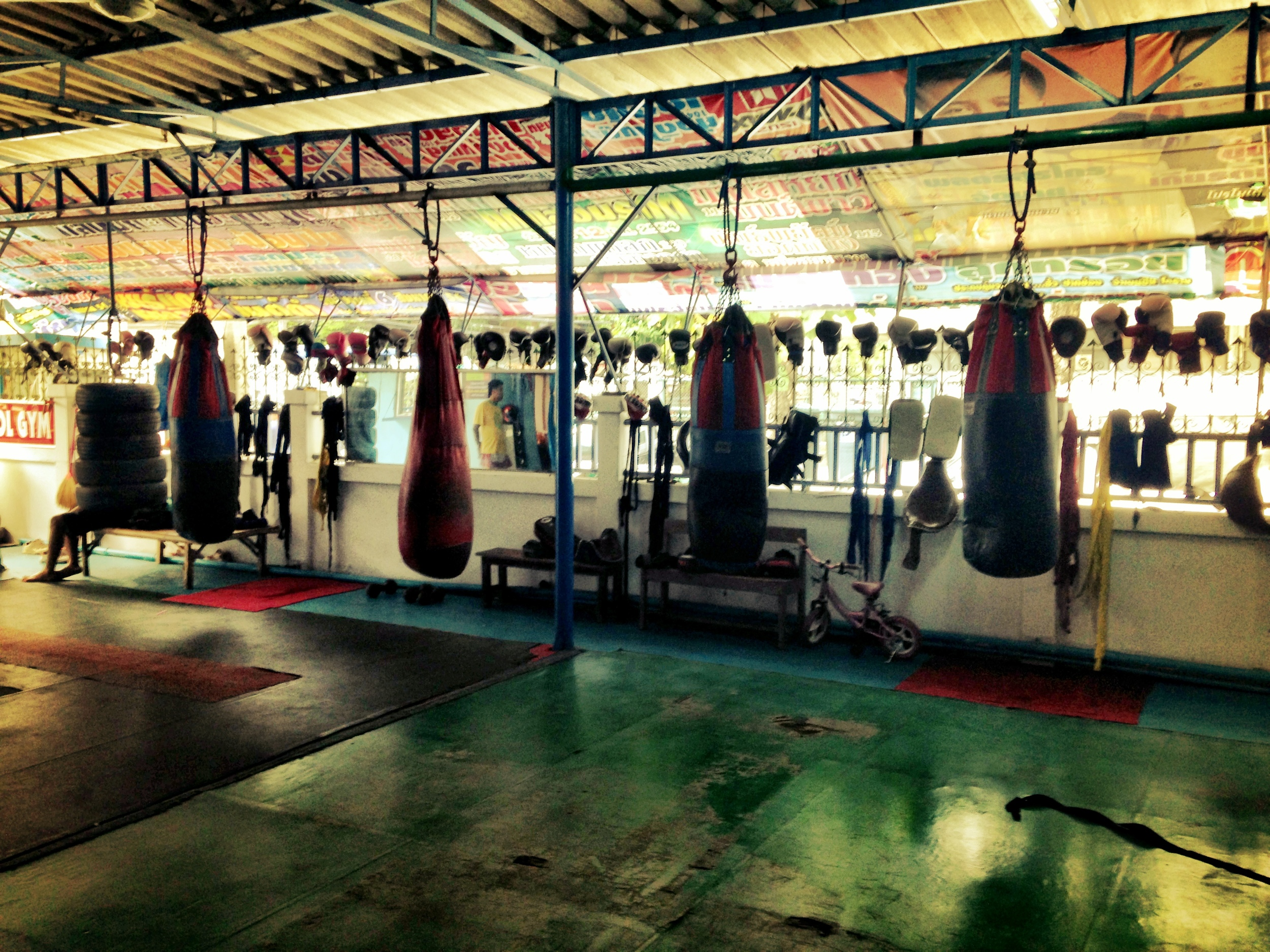 Varipol Gym before training