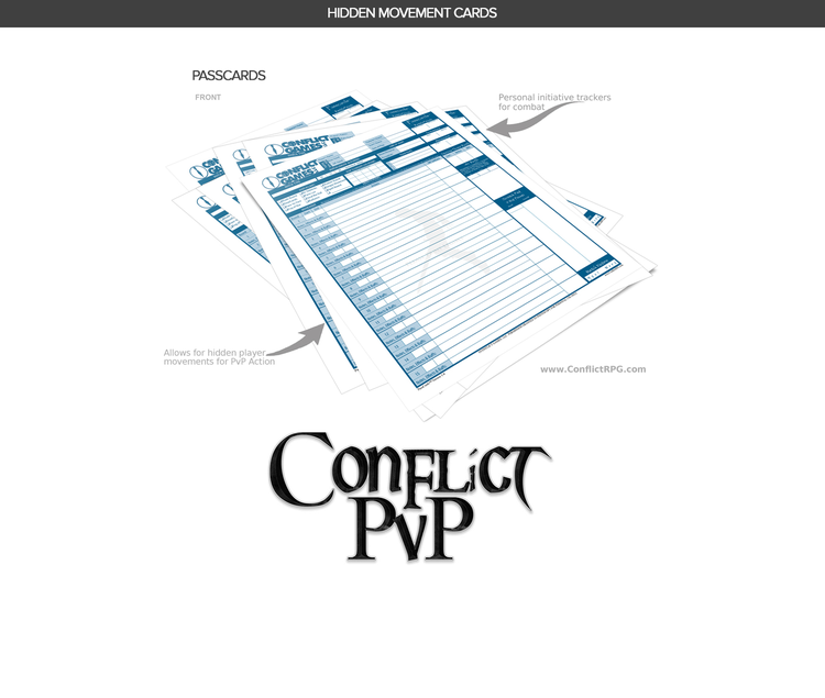 Conflict GamesConflict Games - Products for Creative Writers