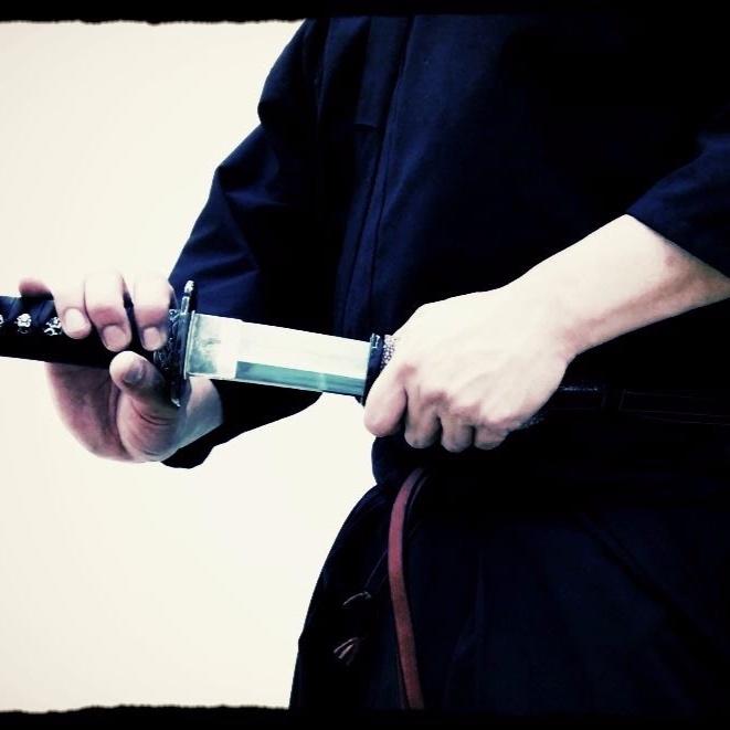 Demonstration of Iaido (Japanese Sword Skills) -