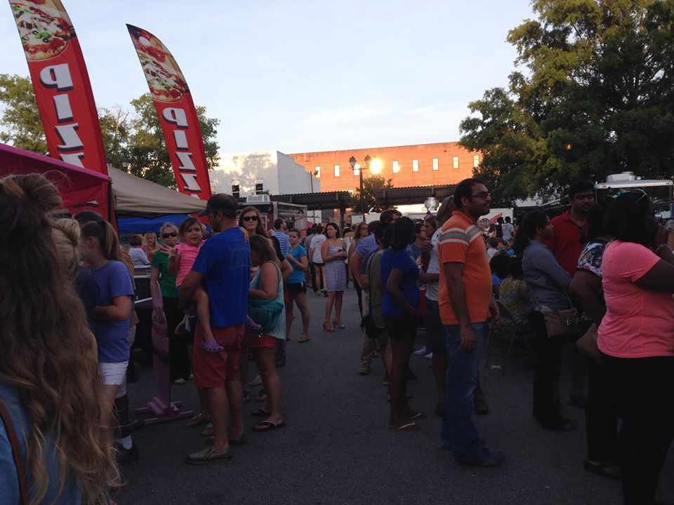 Food Truck Rodeo, Greenville, NC2015