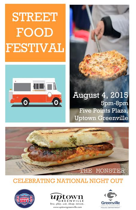 We made the ad for the NNO Food Truck Rodeo in Greenville,NC 2015!!!
