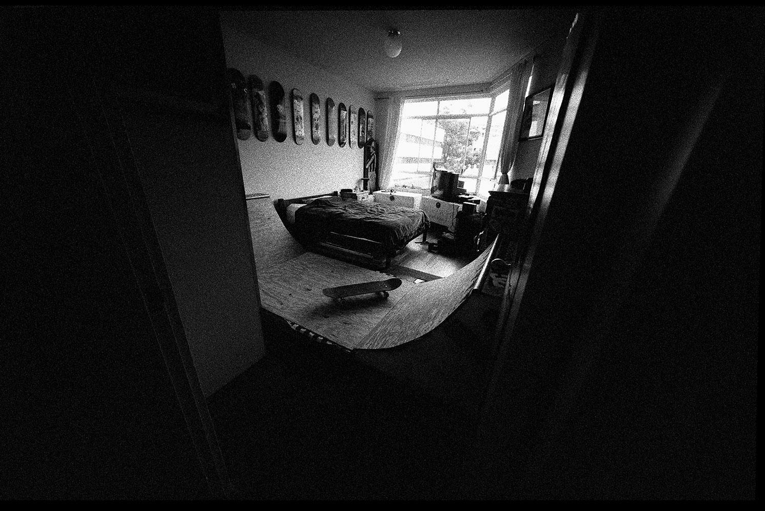 Bedroom Ramp, Waterloo, NSW, Silver Gelatin Print, 50.8cm x 60.1cm, 1/5