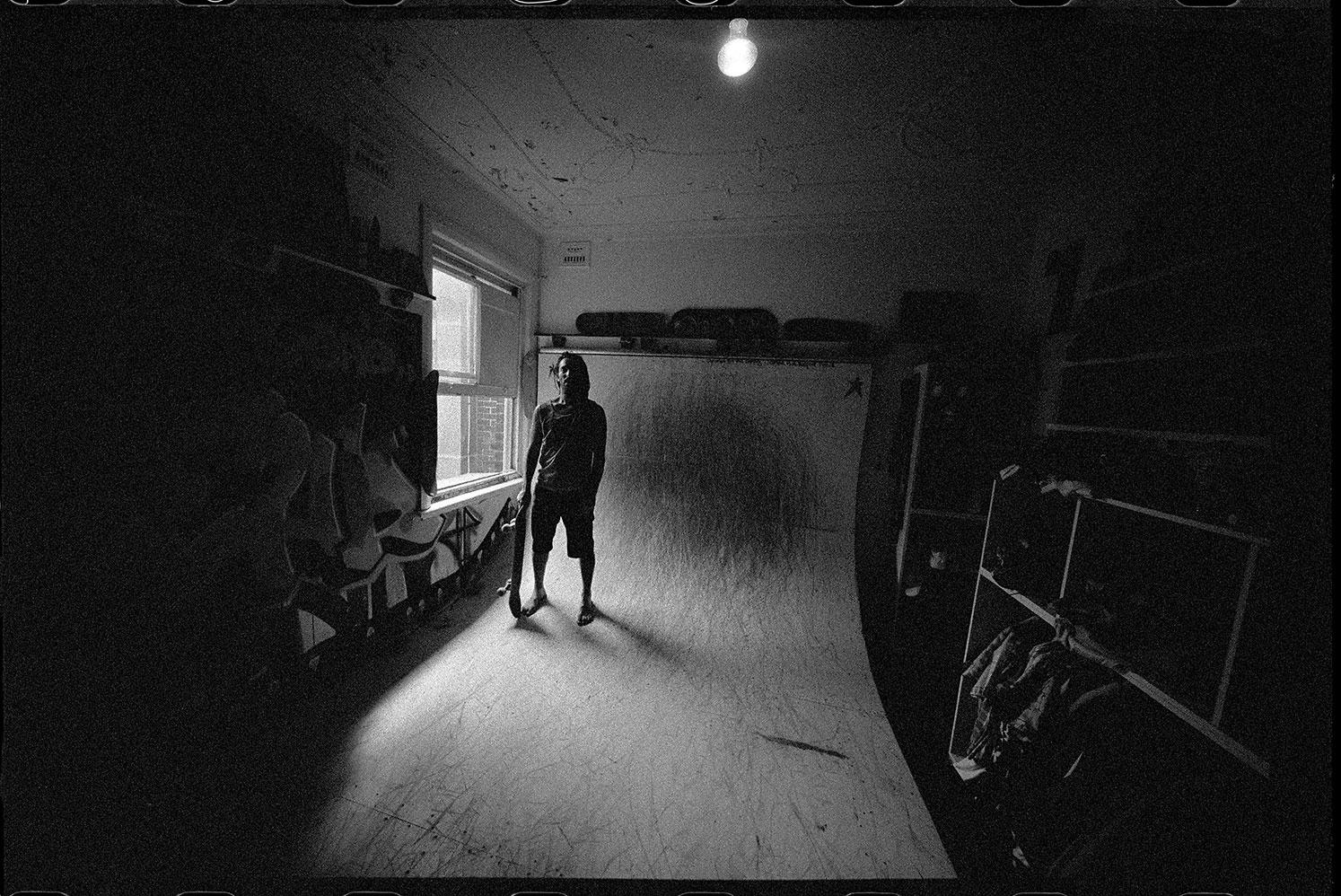 Josh, Portrait, Bedroom Ramp, Bondi, NSW, Silver Gelatin Print, 50.8cm x 60.1cm, 1/5
