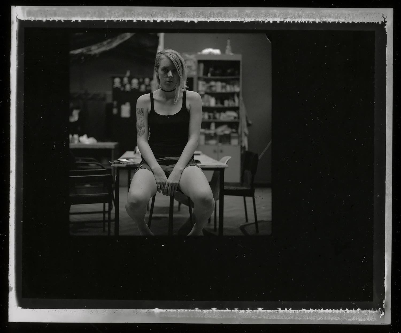 <i>Kira</i>, 2007, Polaroid 665, 8.5 x 10.8 cm