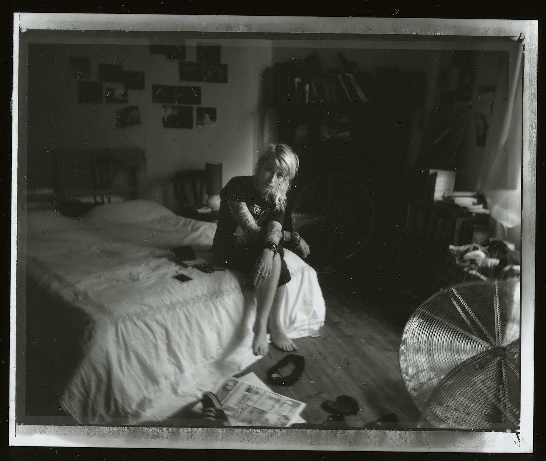 <i>Meeso #1</i>, 2009, Polaroid 665, 8.5 x 10.8 cm
