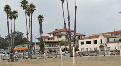 The Casa Blanca is on the site of the Sea Beach Hotel.