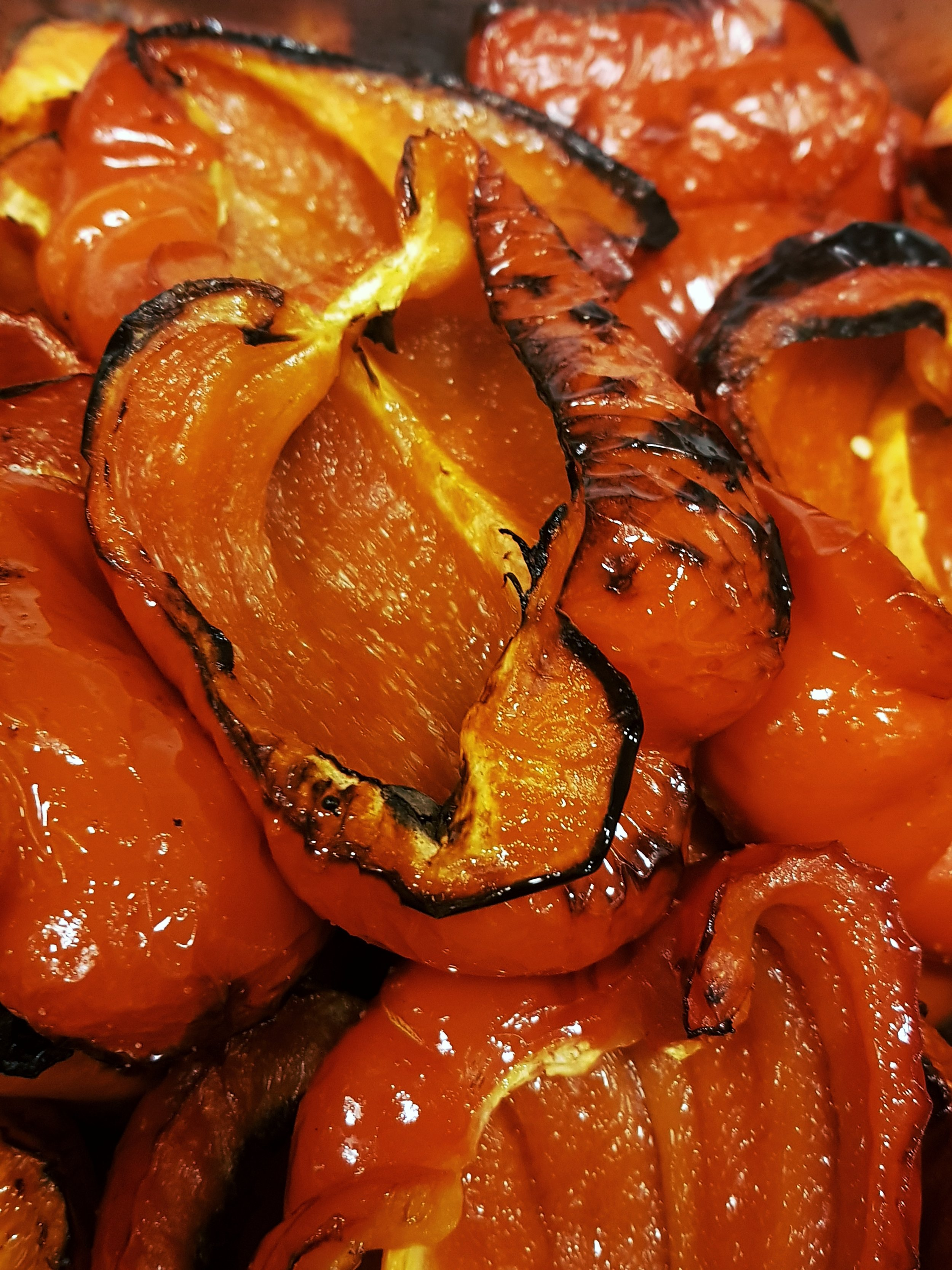En godt karamellisert paprika.