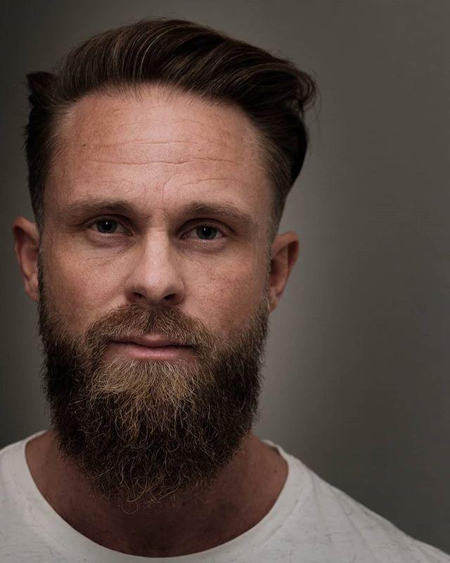 En av Martin sine kunder fra i dag.  #bergenbarberstue #skjegg #beard #beardsofinstagram #snaisenflais #fujifilm #fujix #xh1 #xf56mm #bergen #fujifilmnordic