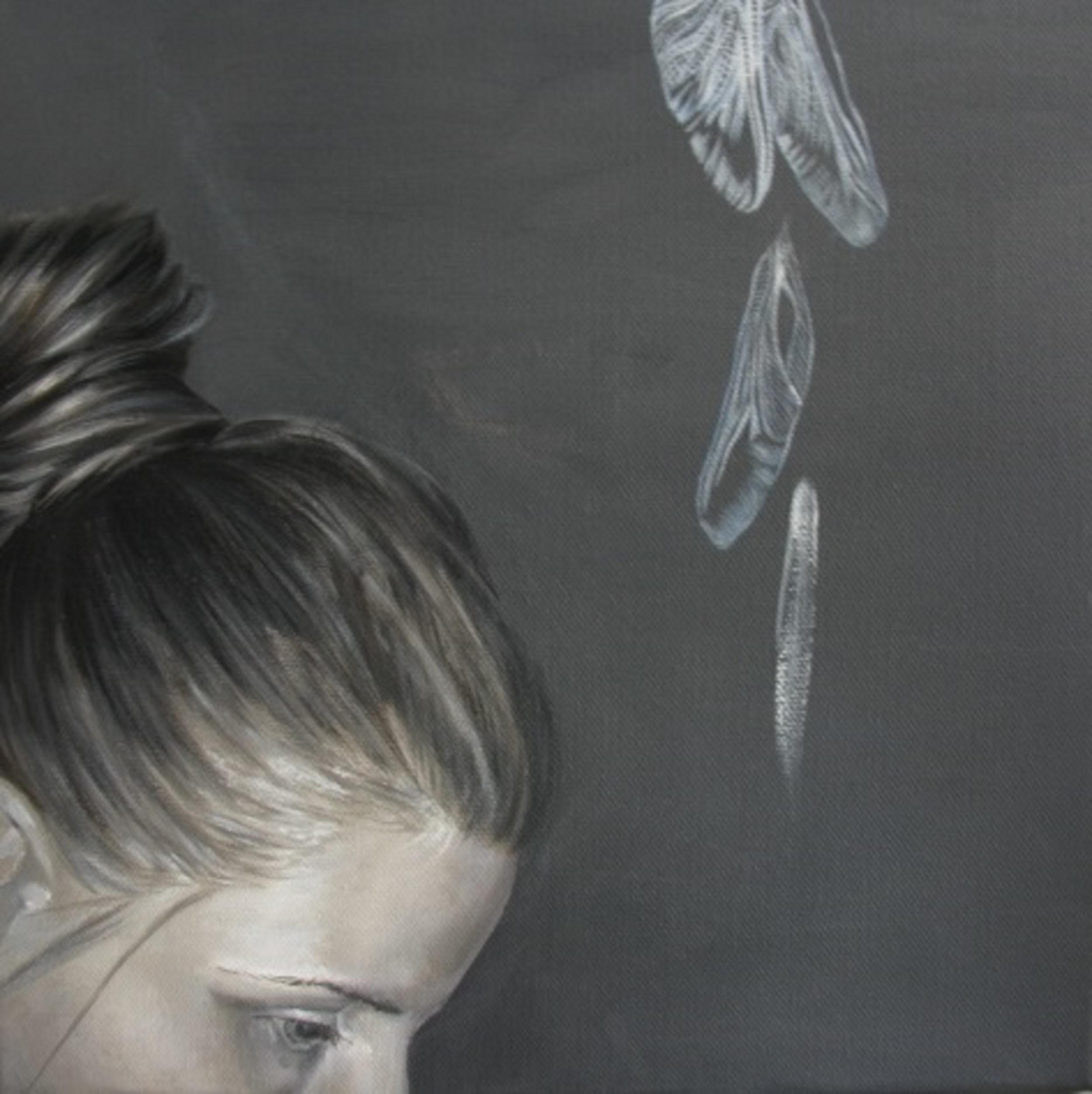 Riitta Kuisma, Self Portrait, Oil on Canvas