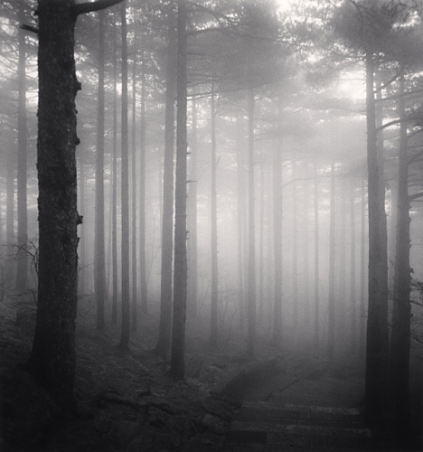 Michael Kenna  - Huangshan Mountains, Study 26, Anhui, China, 2009.jpg