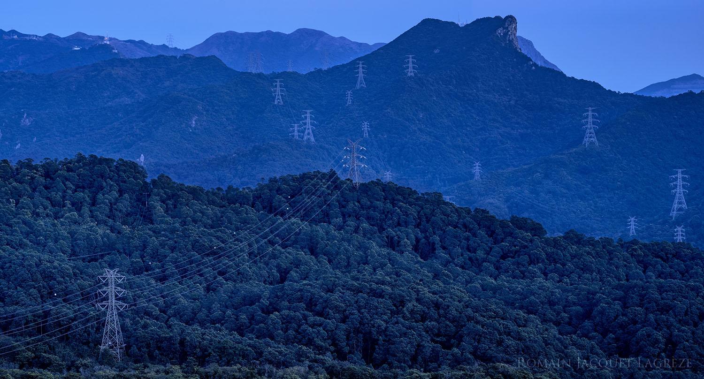 © Romain Jacquet-Lagrèze, 'The Blue Moment' #2, Hong Kong 2015