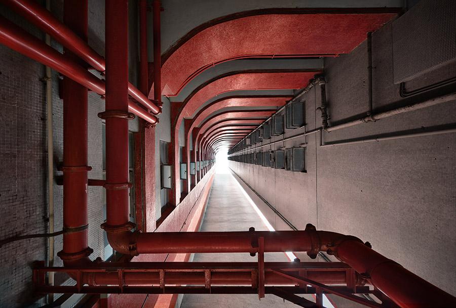 © Romain Jacquet-Lagrèze, 'Vertical Horizon' #97, Hong Kong 2014