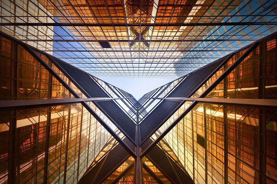 © Romain Jacquet-Lagrèze, 'Vertical Horizon' #95, Hong Kong 2014