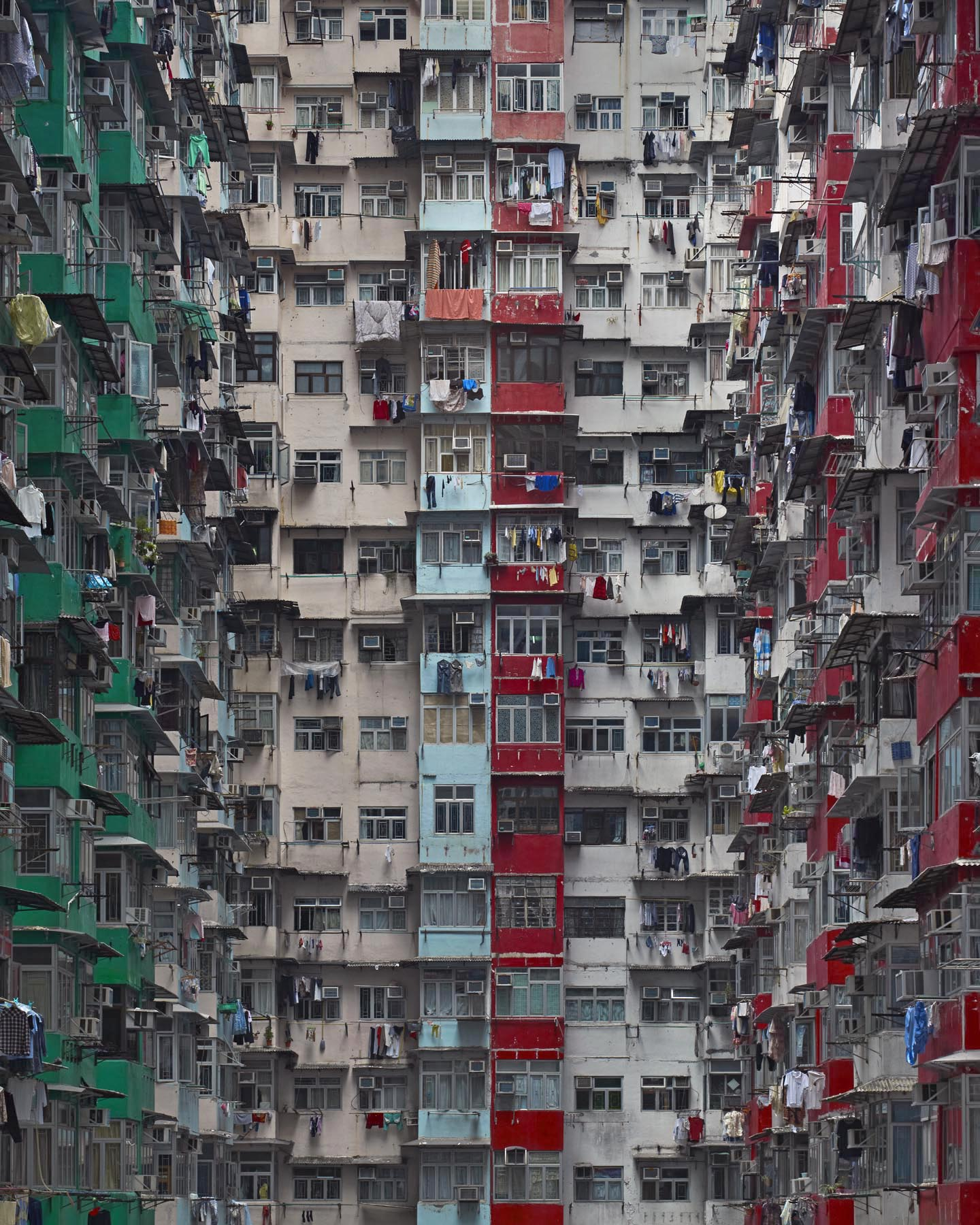 "Architecture of Density #120, Hong Kong 2008, H 62 x 48"", Edition 7 of 9"