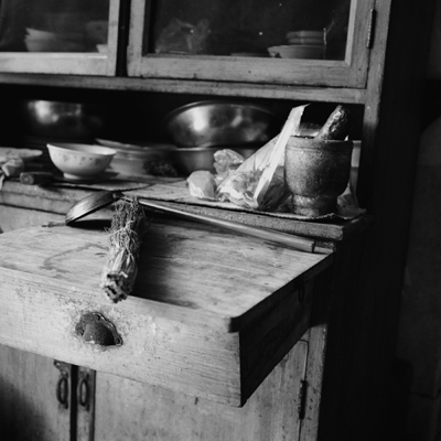 Jo Farrell, Su Xi Rong kitchen detail, 75 years old (China, 2008)
