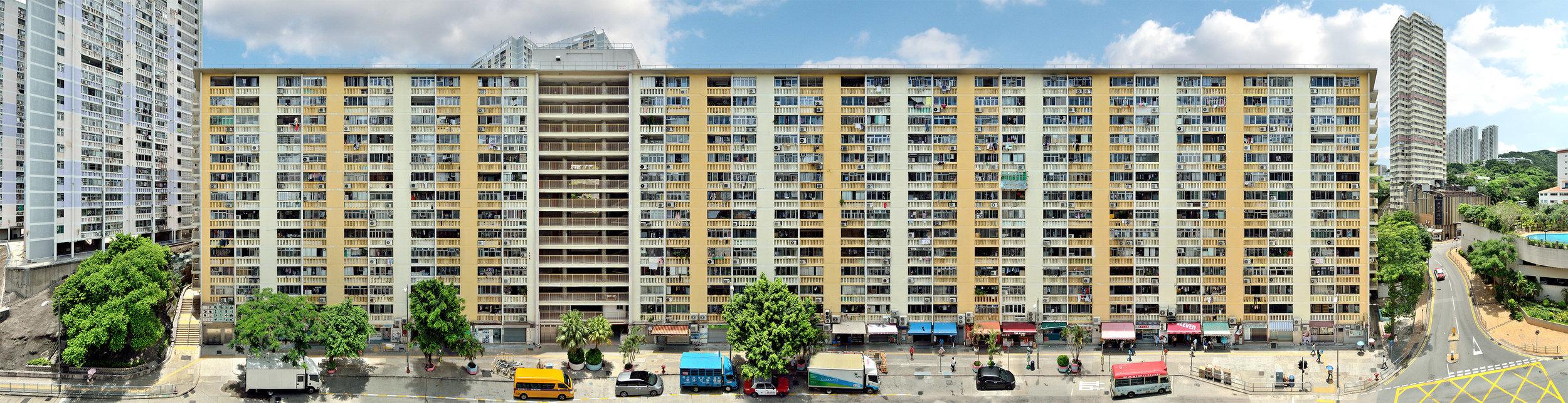 """Stefan Irvine & Jörg Dietrich """"Wah Fu Estate, Pok Fu Lam"""" (Hong Kong, 2017)"""