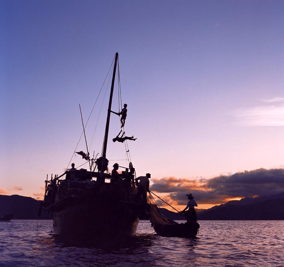 Fishing Boat, Hei Ling Chau, 1973