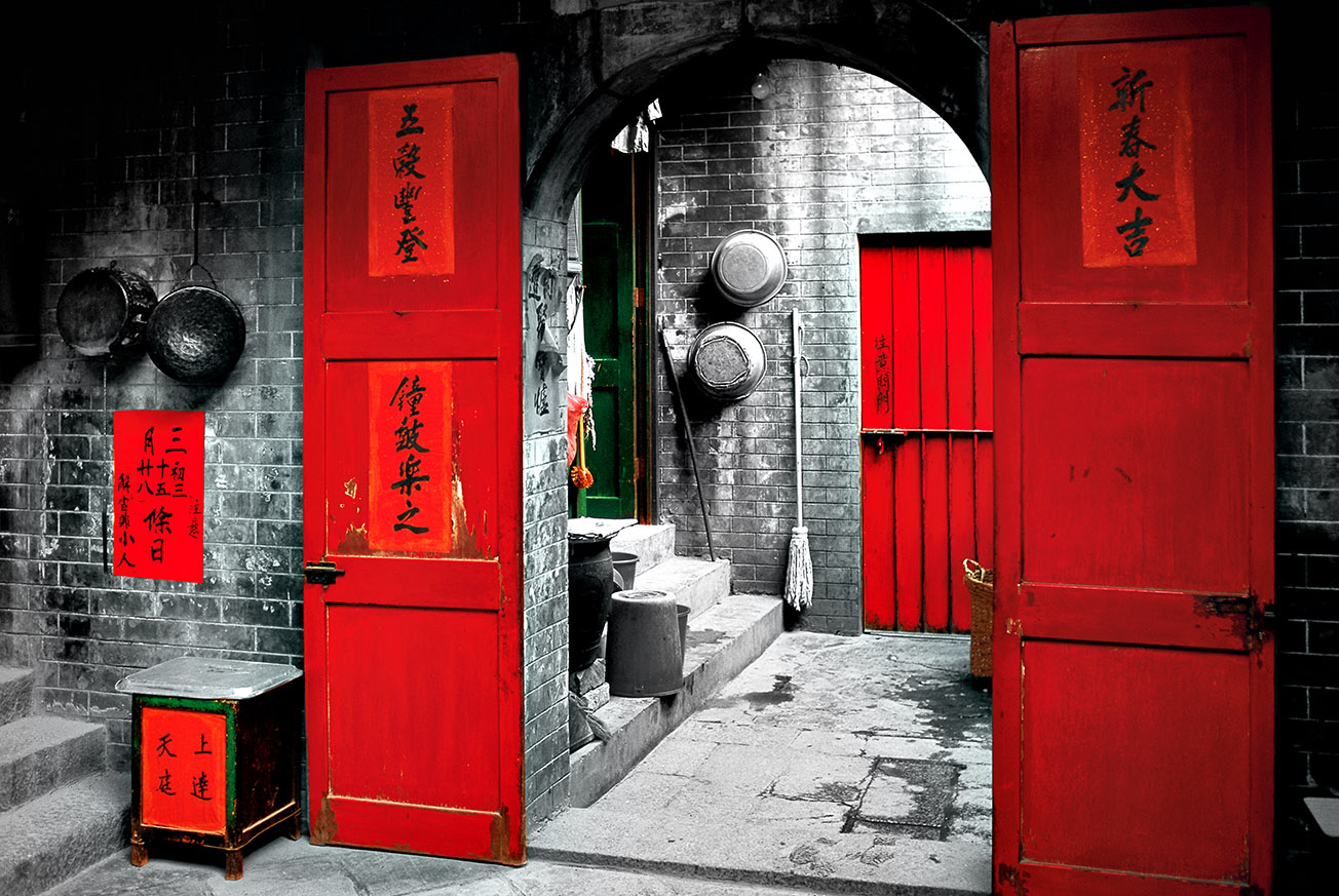 Tin Hau Temple, Temple Street, 1995