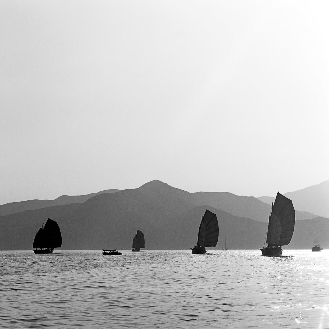 4 Junks off Fa Tau Mun, 1975